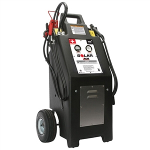 Solar HT1224AGM Heavy Truck 12/24 Volt Commercial Charger/Starter w/AGM Batteries - TCB-HT1224AGM