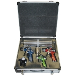 Titan 4 Piece HVLP Spray Gun Kit with Aluminum Case TIT19221