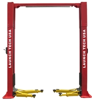 Launch Tech USA TLT211-AS 11,000 lb Clear Floor Asymmetric 2 Post Lift - ALI/ETL Certified