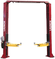 Launch TLT240SC 9,000 lb Clear Floor Asymmetric 2 Post Lift