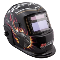 Firepower 1441-0086 Piston and Plug Auto-Darkening Welding Helmet - VCT-1441-0086