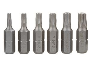 6pc Security Torx Bit Set