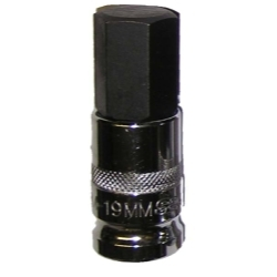 "Vim Products 1/2"" Drive 19mm Hex Bit Socket - VIMHM-19MM"