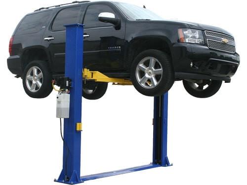 Atlas® 9KBP Floor Base-Plate 2 Post Lift 9,000 lbs