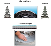 Nationwide Deluxe Wheel Weight Set
