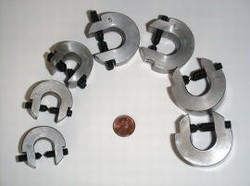 CDI-DSS-SC Double Sided Set Screw C-Clamps