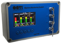 CMCP7504 Four Channel Machinery Monitoring System.