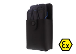 LH-SO1 Leather Holster for SMART EX-01 Intrinsically Safe Mobile Phone