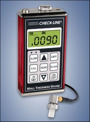 Check-Line TI-007-GT Precision Ultrasonic Wall Thickness Gauge With Graphite Tip For Measuring Plastics