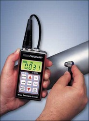 Check-Line TI-25DL General Purpose Datalogging Ultrasonic Wall Thickness Gauge