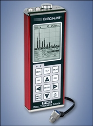 TI-MVX Graphical A & B Scanning Ultrasonic Wall Thickness Gauge