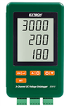 Extech SD910: 3-Channel DC Voltage datalogger