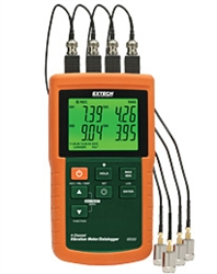 Extech VB500: 4-Channel Vibration Meter/Datalogger