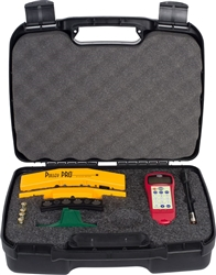 Pulley Partner Kit: (Includes Sonic Tension Meter and Red Laser Pulley Partner Laser)
