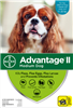 Advantage II For Medium Dogs 11-20 lbs, 6 Pack