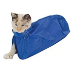 Feline Restraint Bag, 10-15 lbs, Royal J0170L