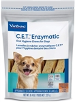 Virbac C.E.T. Enzymatic Oral Hygiene Chews For Dogs, Extra Small, 30 Chews