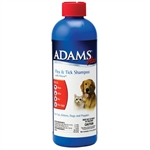 Adams Plus Flea And Tick Shampoo With Precor For Dogs And Cats, 12 oz