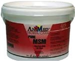 AniMed MSM Pure Powder For Horses, 5 lbs