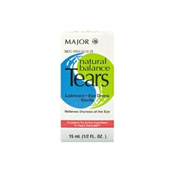 Major Natural Balance Tears Eye Drops, 15 ml
