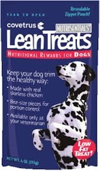 Covetrus NutriSentials Lean Treats for Dogs, 4 oz. Resealable Pouch