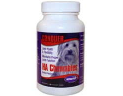 Conquer K9 with Hyaluronic Acid, 60 Chewables Tablets