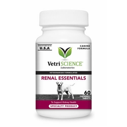 Renal Essentials For Dogs, 60 Chewables
