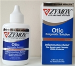 Zymox Otic HC 1.0% Enzymatic Solution, 1.25 oz.
