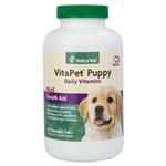 NaturVet VitaPet Puppy Daily Vitamins, 60 Chewable Tablets