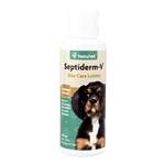 NaturVet Septiderm-V Lotion, 4 oz.
