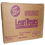 Butler NutriSentials Lean Treats for Dogs, 4 oz. Resealable Pouch, 10 Pack