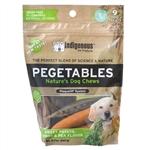Pegetables Dental Chews, Mixed Vegetables - Medium, 8 oz.