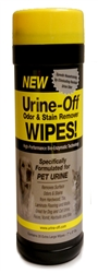Urine-Off Wipes, 35 Extra Large Wipes for Dogs and Cats