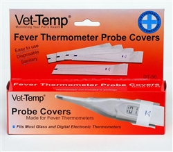 Vet-Temp Fever Thermometer Probe Covers, 50 Count