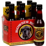 3 Busy Dogs Bowser Beer, Beefy Brown Ale, 12 oz. [Each]