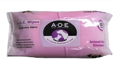 AOE Animal Odor Eliminator Pet Wipes, 80 Count
