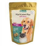 NaturVet Hip & Joint Soft Chews Plus Omegas, 120 Count