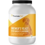 Thomas Labs Brewer's Yeast Flavored With Garlic, 5 lb