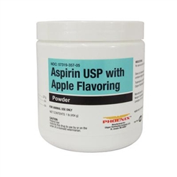 Aspirin Powder With Apple Flavoring, 1 lb