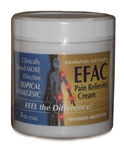 EFAC Pain Relieving Cream, 4 oz.