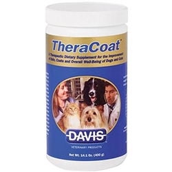 TheraCoat Dietary Supplement For Dogs & Cats, 400g