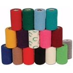 "3M Vetrap Bandage 4""x 5 Yard Roll, HOT PINK"