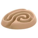 BUSTER DogMaze Food Dish - Beige