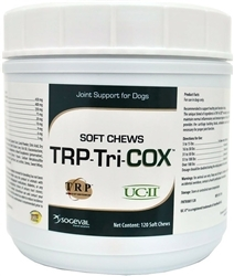 TriCOX Soft Chews Joint Support For Dogs, 120 Count