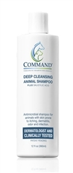 Command Deep Cleansing Animal Shampoo, 4 oz