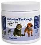 ProMotion Plus Omegas For Cats & Small Dogs, 120 soft chews