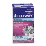 Feliway MultiCat Diffuser 30 Day Refill, 48 ml