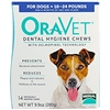 Oravet  Dental Hygiene Chews, 14 Chews