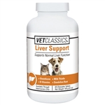 Vet Classics Liver Support, 60 Chewable Tablets