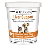 VetClassics Liver Support, 60 Soft Chews